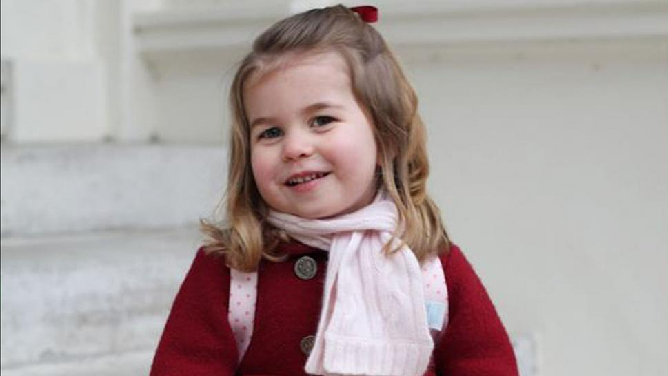 Princess Charlotte celebrates her third birthday