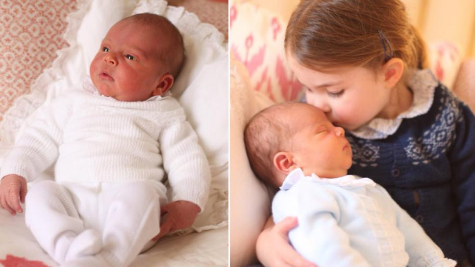 Prince William and Kate Middleton Release Adorable Photos