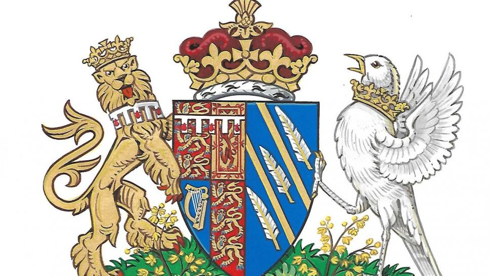 Palace reveals Meghan Markle's new Coat of Arms