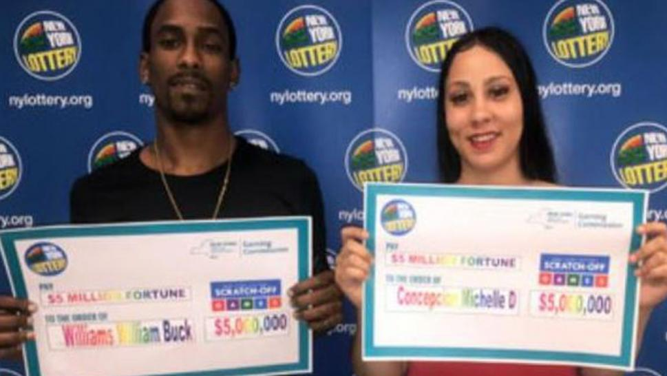 New York couple wins $5 million lottery.