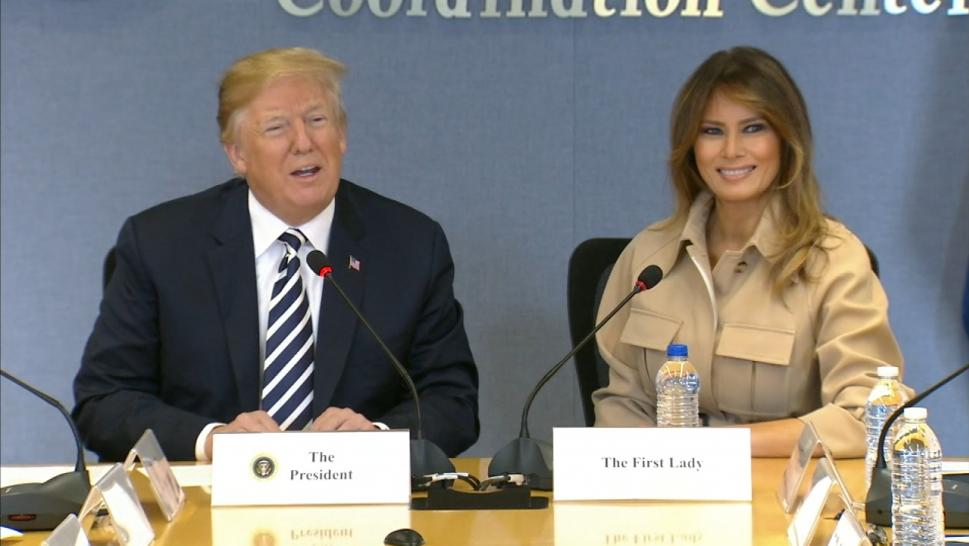 Melania and Trump