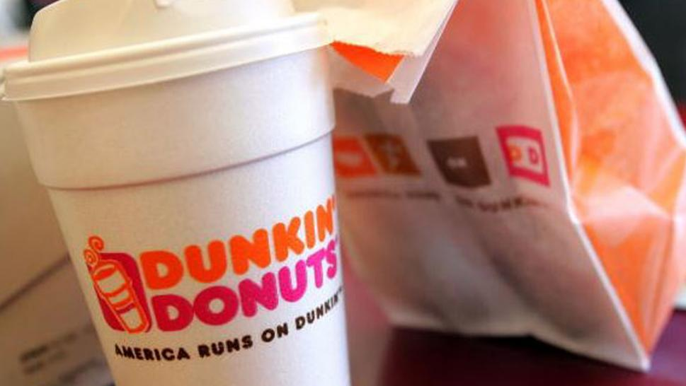 A Baltimore Dunkin' Donuts store posted sign urging customers to report employees who are not speaking English.