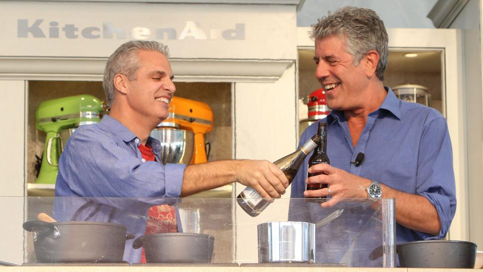 Eric Ripert and Anthony Bourdain