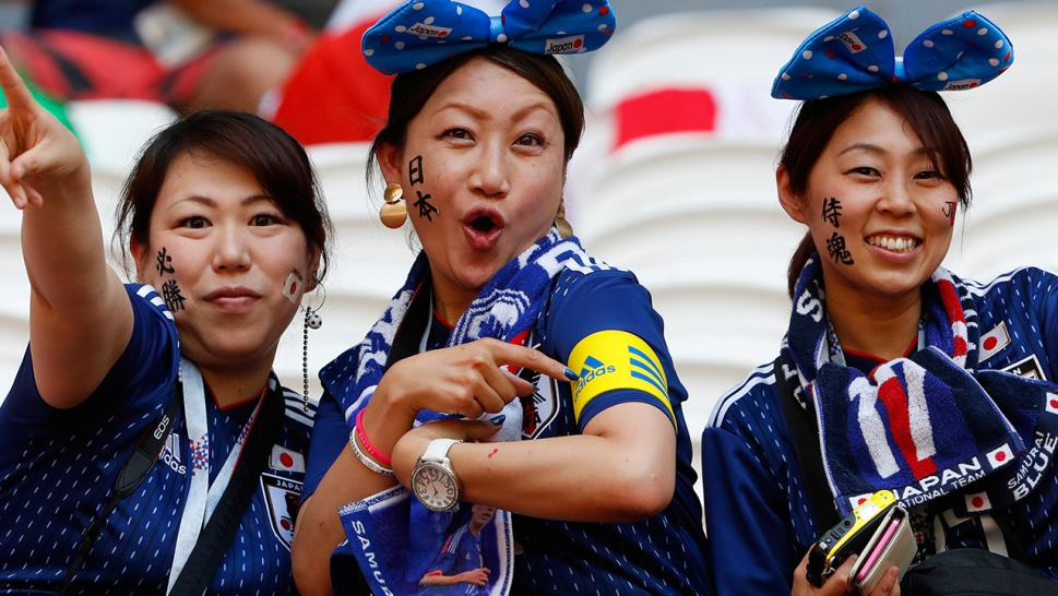 Image result for japan world cup fan