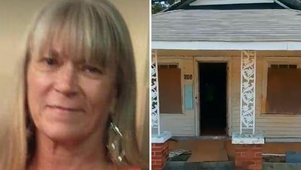 Rita Maynor's body was found in an abandoned home in Robeson County.