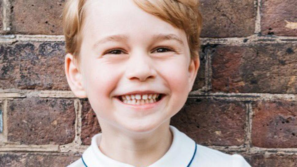Prince George's fifth birthday sees new official photo released
