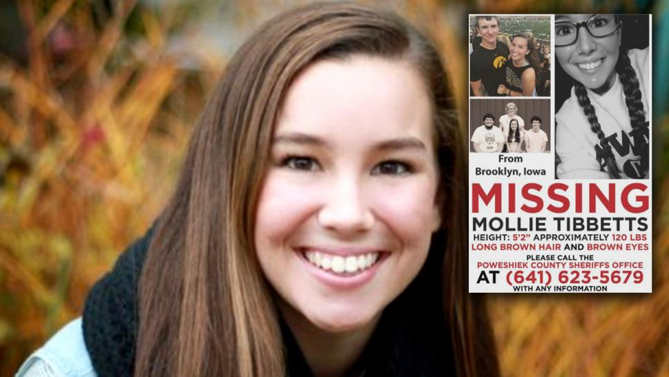 Possible sighting of Mollie Tibbetts in Missouri