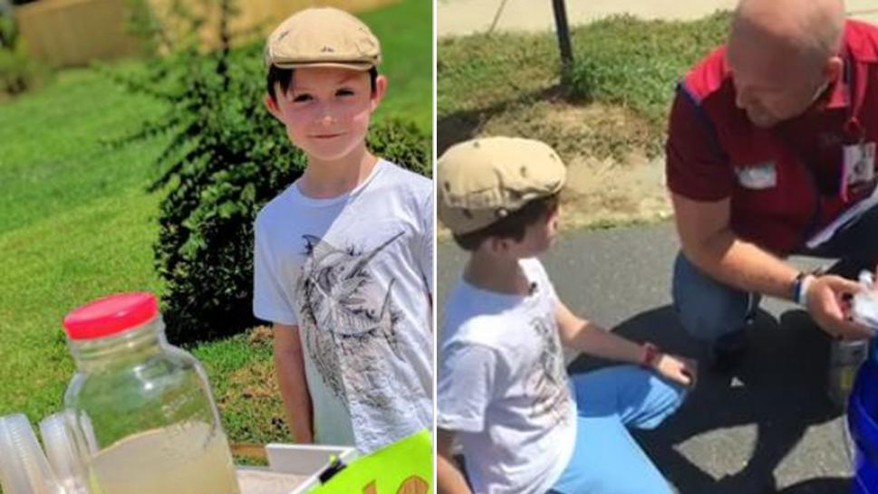 Boy, 9, robbed at gunpoint while selling lemonade