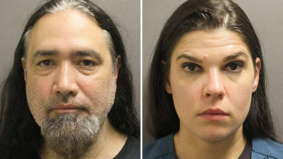 John Guerrero and Virginia Yearnd were arrested Monday on second-degree felony child endangerment charges.
