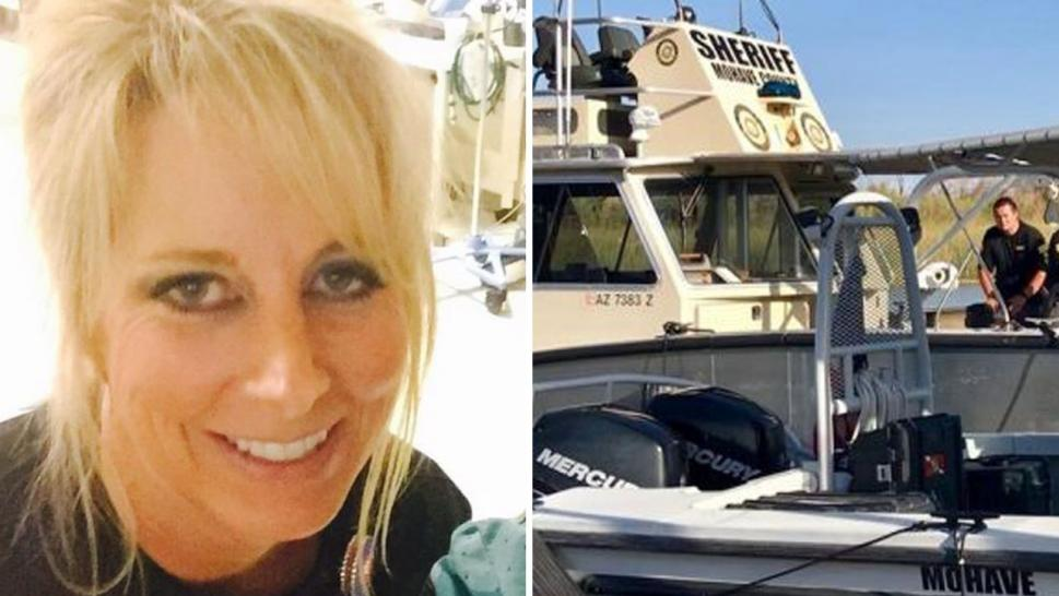 The body of Christine Lewis, 51, of Visalia, Calif., was found about 7:30 a.m. Monday, the Mohave County Sheriff's Office said.