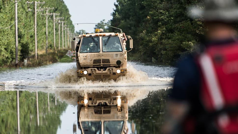 Flood Waters Kill Two Horry County Detainees