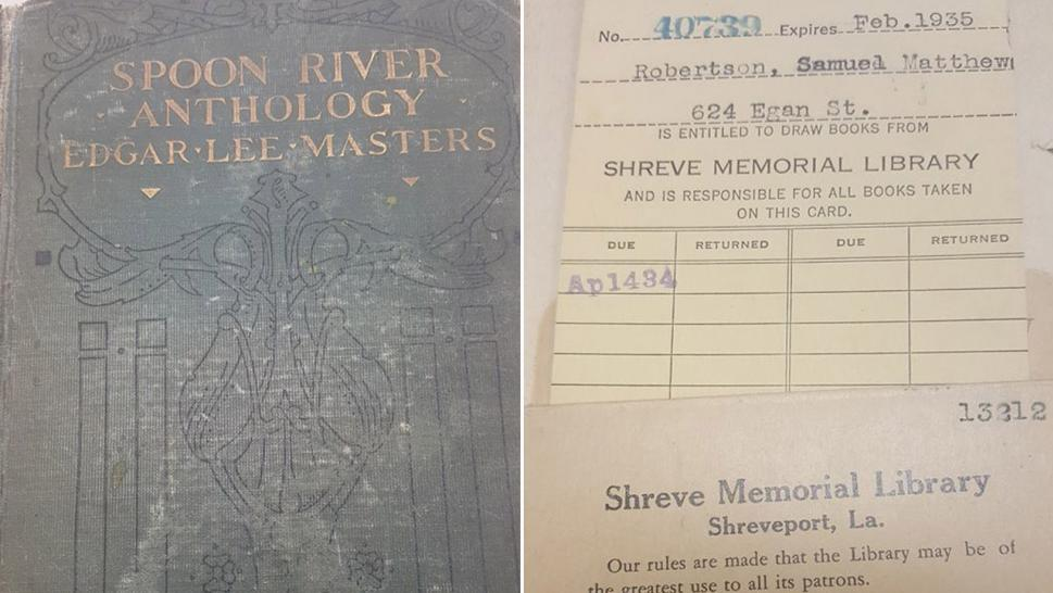 Son Returns Mom's Overdue Library Book in Louisiana, 84