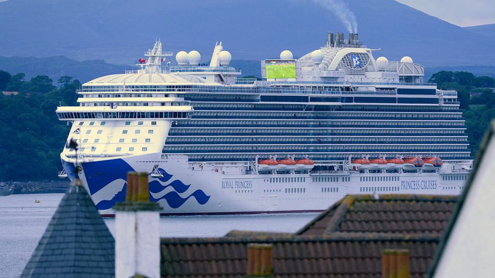 Woman Dies on Princess Cruises Royal Princess Ship Headed to Aruba
