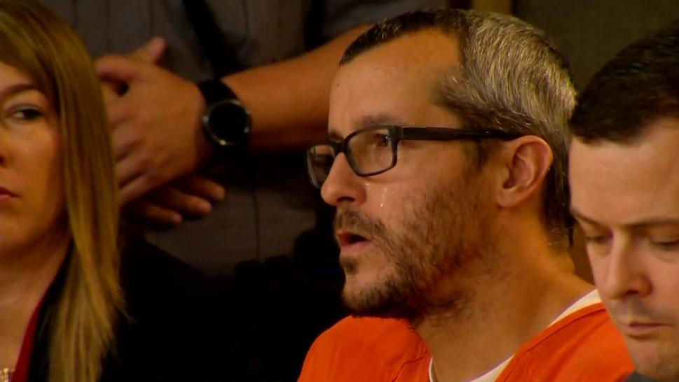 Chris Watts seen confessing to wife's murder in newly released video