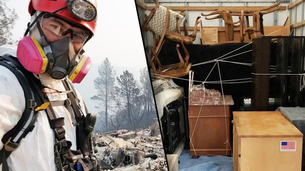 Combat Vet donates everything to firefighters who lost everything in Camp Fire