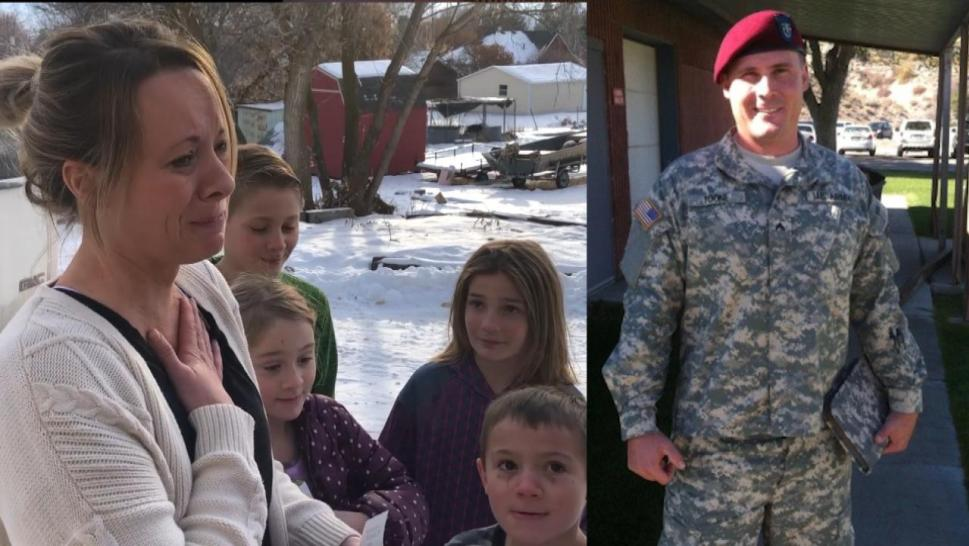 Military widow receives money from Secret Santa