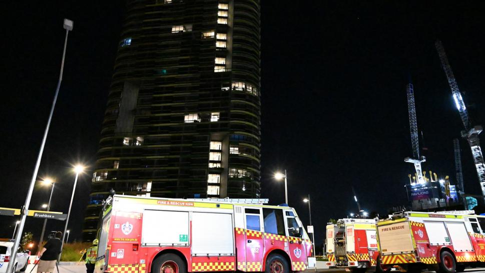 Opal Towers was evacuated on Christmas after residents feared it may collapse.
