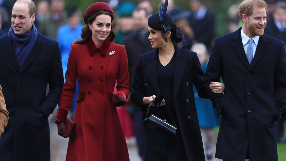 Kate Middleton and Meghan Markle seemed chatty during their walk to Christmas Day services.
