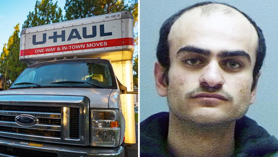 Murad Mansurovich Kurbanov, 19, allegedly stole a U-Haul truck.