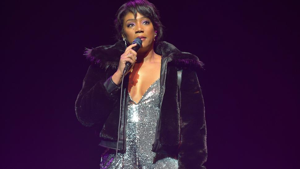 Tiffany Haddish performs on New Year's Eve.