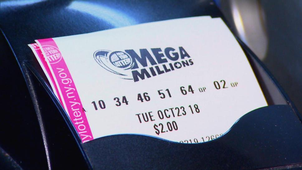 A Mega Millions ticket.