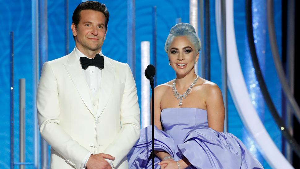 Bradley Cooper and Lady Gaga take the stage at the 76th annual Golden Globes.