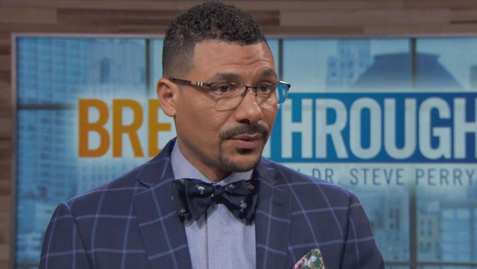 "Dr. Steve Perry counsels everyday people on tough decisions on ""Breakthrough With Dr. Steve Perry."""
