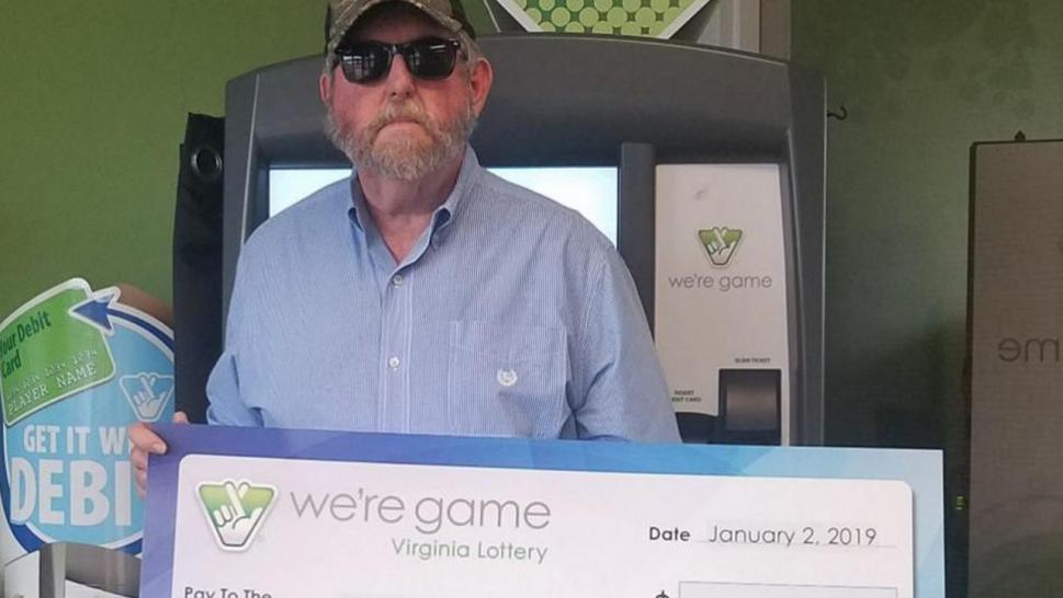 Randy Cage won the lottery twice in one day.