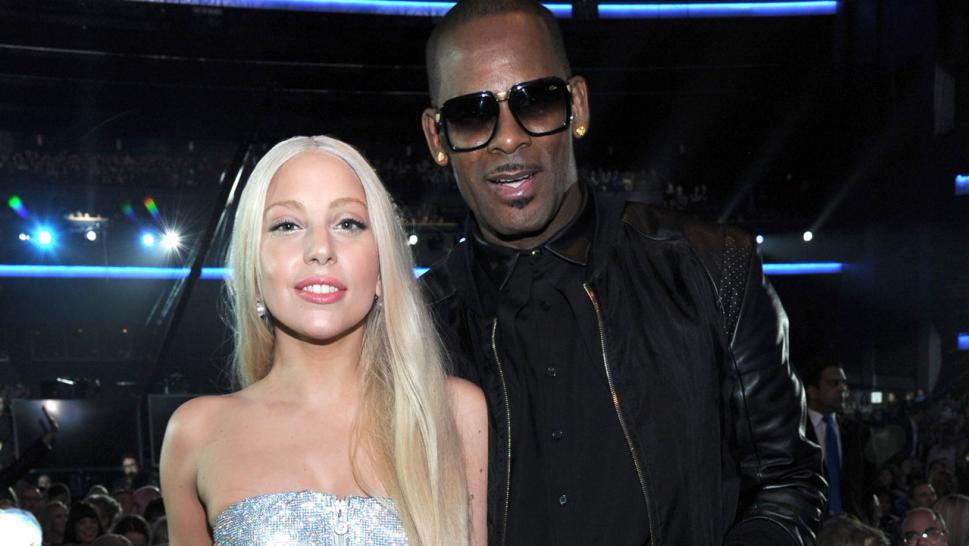 "Gaga announced she was pulling her 2013 collaboration with Kelly from streaming services and apologized for working with him on ""Do What U Want (With My Body),"" on her ""Artpop"" album."