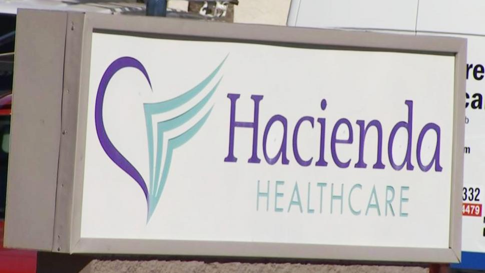 A nurse at Hacienda Healthcare desperately asked for instructions from a 911 operator
