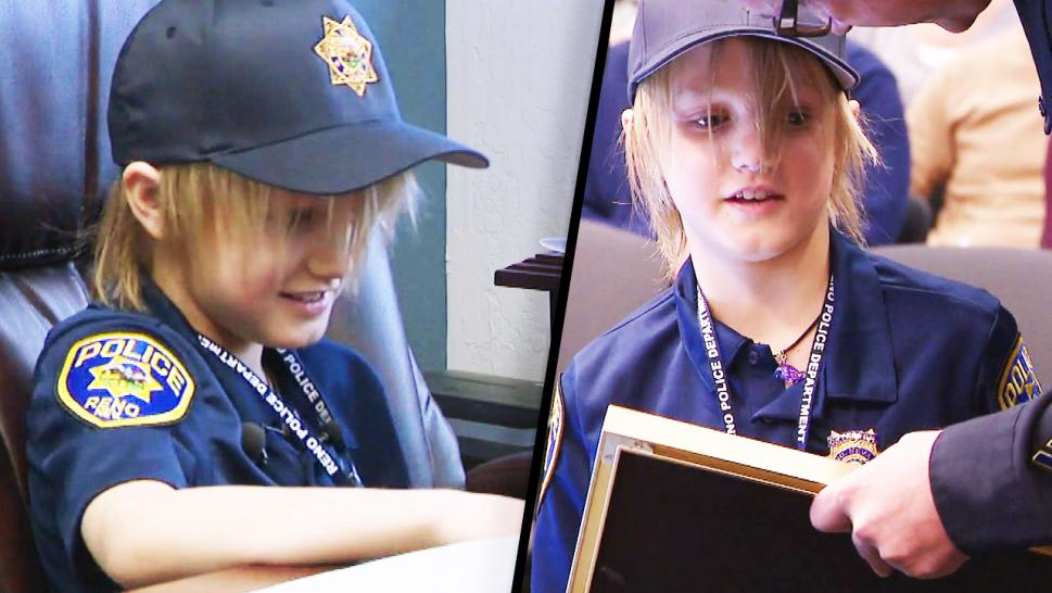 Boy, 9, With Rare Terminal Illness Becomes Honorary Police Chief For The Day