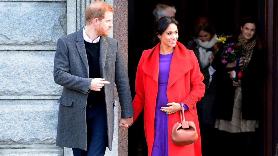 Meghan Markle, 37, is six months pregnant.