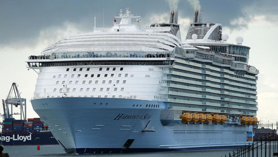 The teen and his family were vacationing aboard the Royal Caribbean's Harmony of the Seas, a 5,400-passenger ship that was docked in Labadee, Haiti.