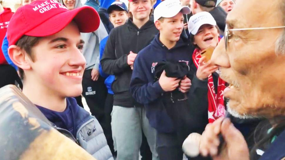 Covington Catholic High Under New Scrutiny as More Video Comes to Light