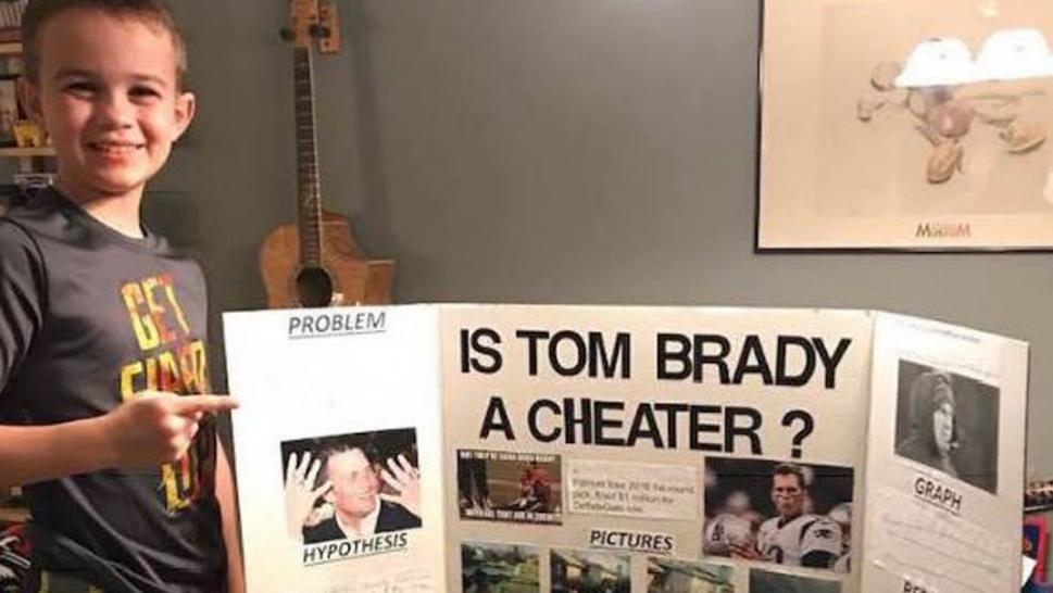 10-Year-Old 'Proves' Tom Brady Is A Cheater, Wins Science Fair