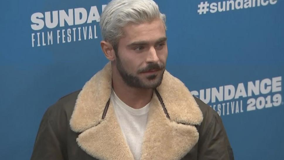 """We look kind of similar and we have some of the same mannerisms,"" Efron said at the Sundance Film Festival premiere of ""Extremely Wicked, Shockingly Evil and Vile."""