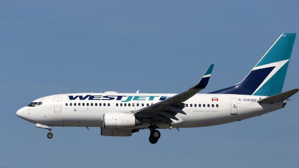 A British man must pay $21,000 to WestJet Airlines for lost fuel costs.