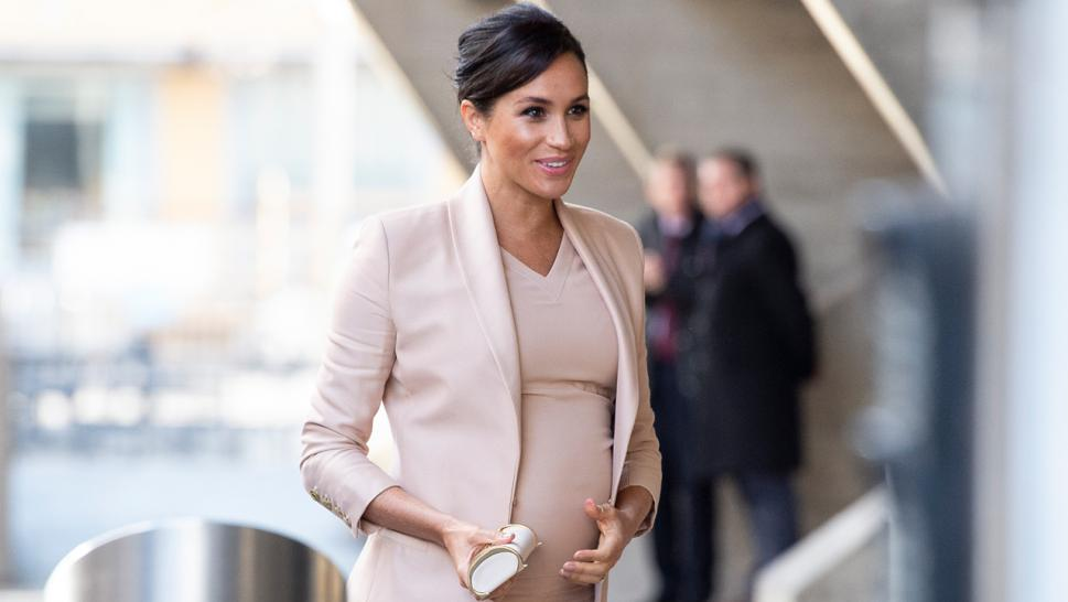 Meghan Markle Has Never Worn Her Hair Like This Before
