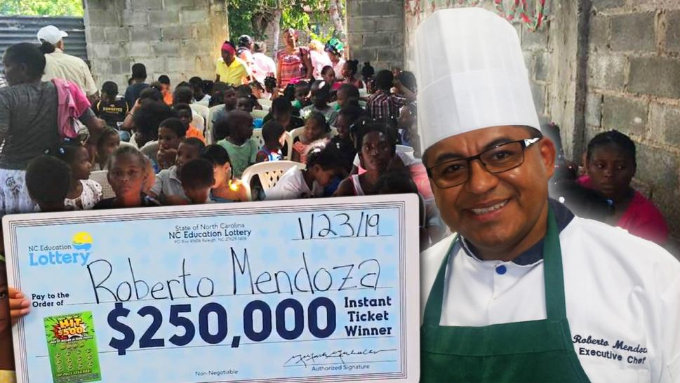Chef wins Lotto