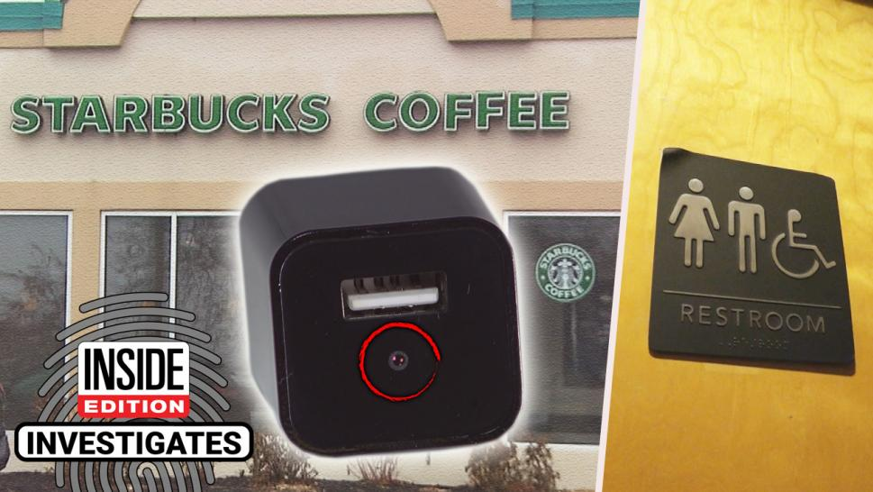 Camera in a Starbucks
