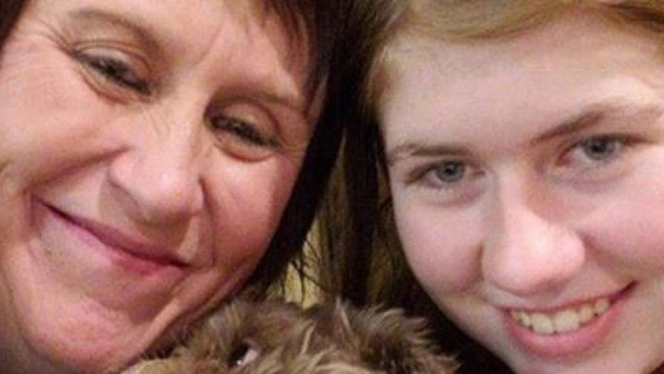 Jayme Closs is seen with her aunt in first