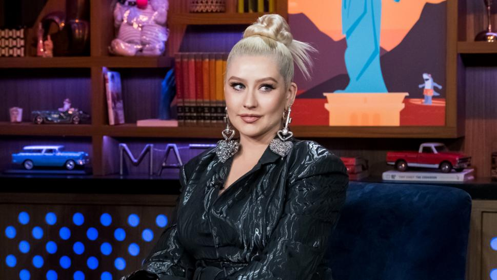 Christina Aguilera speaks with Andy Cohen.