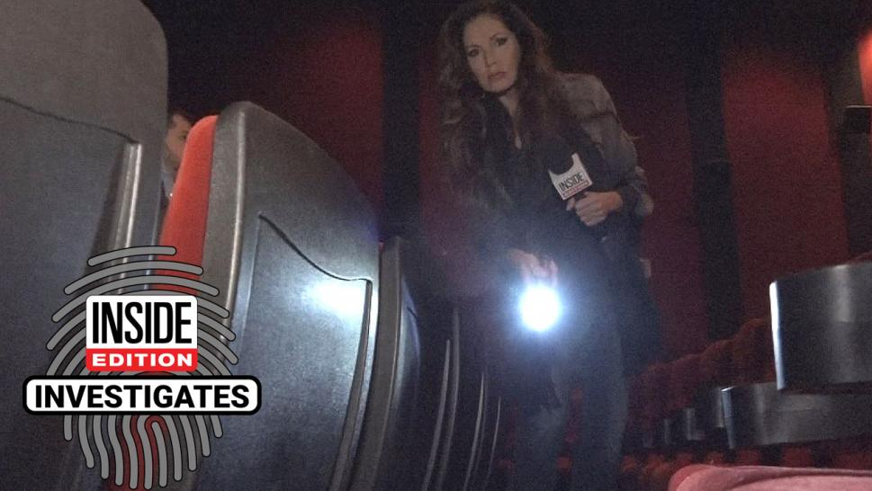 Lisa Guerrero and the Inside Edition I-Squad had discovered some gross scenes.