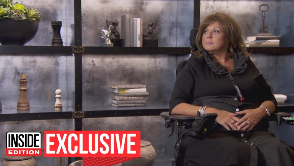 """Dance Moms"" star Abby Lee Miller is usually known for her aggressive teaching methods when it comes to the little girls in her studio, but her demeanor changed last year in the face of paralysis and cancer."