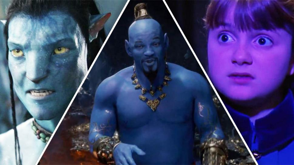 Other blue characters in movie history