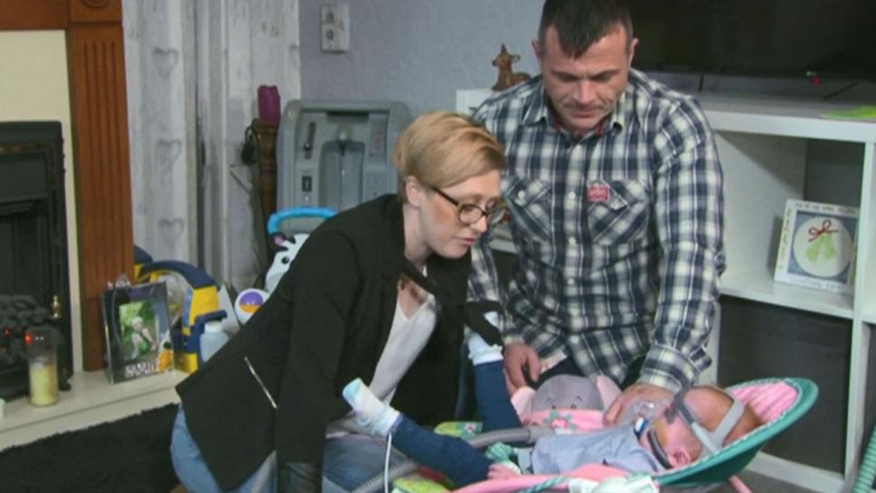 Baby Born With Heart Outside of Her Chest Defies Odds and Goes Home