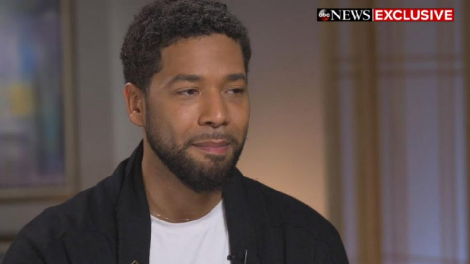 Smollett reported he was attacked and beaten at a Chicago underpass last month.