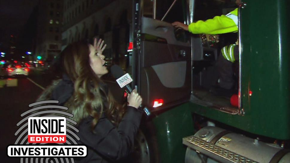 Private garbage trucks perform a necessary service, but some can wreak havoc on the roads. Inside Edition hit the streets to follow private haulers.