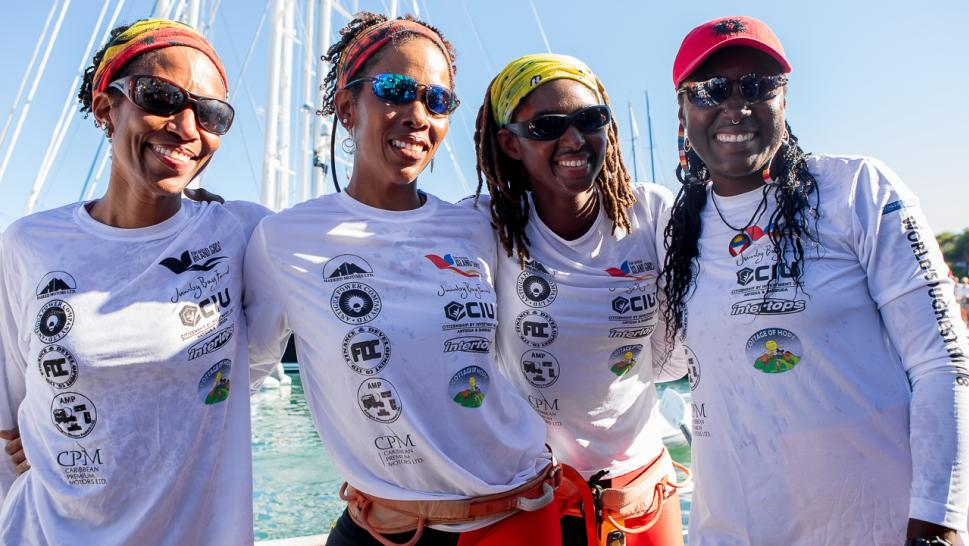 4 Antiguan women made history when they crossed the ocean.