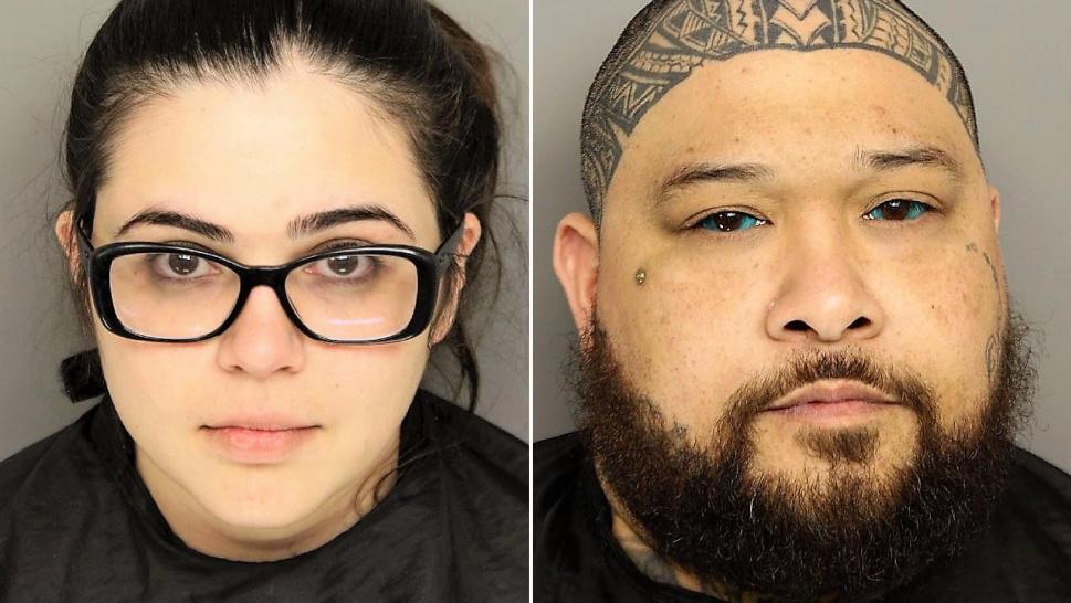 Sabrina Irene Emerick, 25, and Robert Earl Kailiala Saladaga, 37, are accused of tormenting Emerick's two sons, who are just five and seven years old, in instances of abuse dating back to at least September 2017, the Greenville Police Department said.